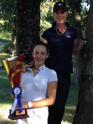 Henrica et Chloé qui remporte le challenge EBP 2015 !